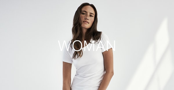 Underwear and t shirts in organic cotton for women