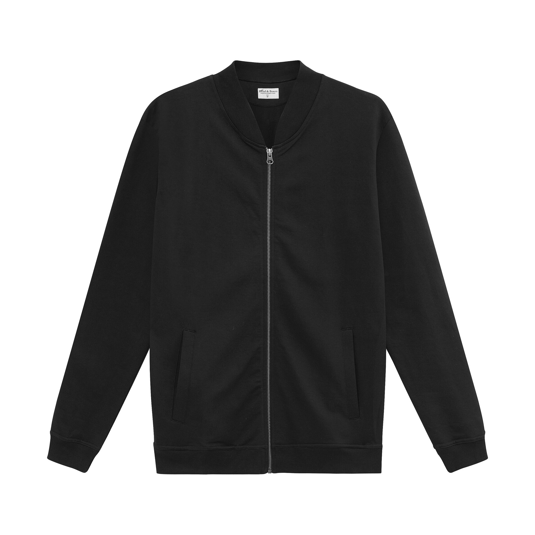 416202_Man_Jersey Jacket_black