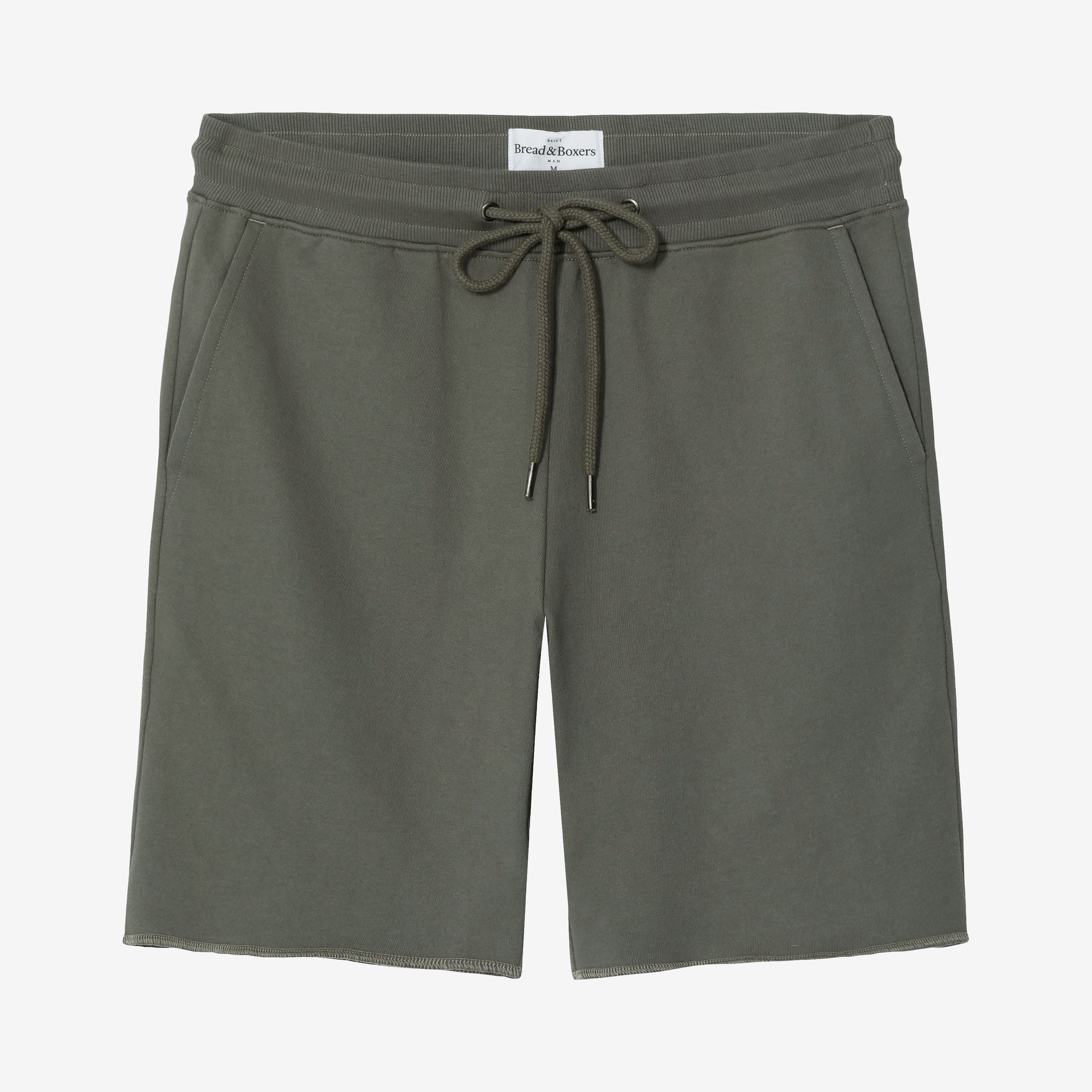424240_Man_Lounge_Short_Olive_Green_A